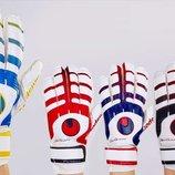 Перчатки вратарские с защитными вставками на пальцах FB-842 3 цвета, размер 8-9