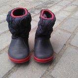 Сапожки ботиночки кроксы Crocs размера С 8