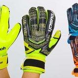 Перчатки вратарские с защитными вставками на пальцах Reusch FB-882 3 цвета, размер 8-10