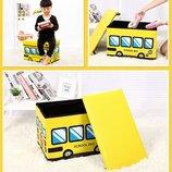 Пуф Короб складной, ящик для игрушек, разные цвета