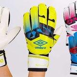 Перчатки вратарские с защитными вставками на пальцах FB-894 3 цвета, размер 8-10