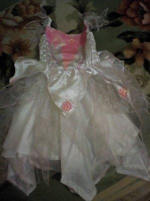 Карнавальное новогоднее платье снегурочки снежинки на 1-2года ladybird