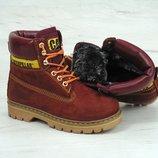 Женские зимние ботинки Caterpillar Colorado Red Dahlia, женские ботинки