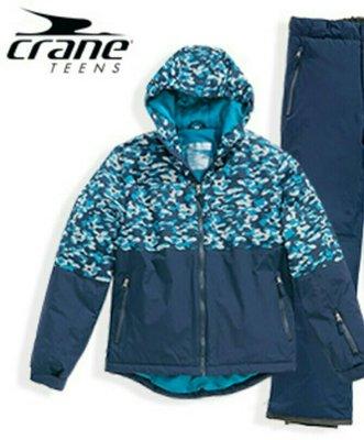 Зимняя горнолыжная куртка Crane®Германия.р.170/176