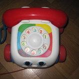 Веселый телефон, каталка Fisher-Price
