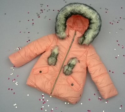 Зимняя куртка для девочки 98,104,110,116,122.