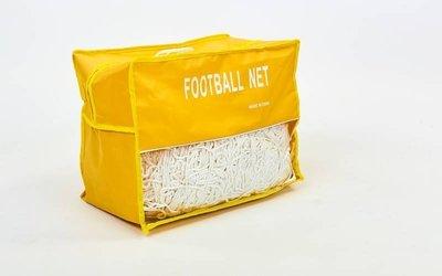 Сетка на ворота футбольные тренировочная узловая 5004 PP 2,5мм, ячейка 12х12см