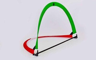 Складные футбольные ворота для тренировок 6397 размер 113x83x83см, пластик сетка PVC чехол