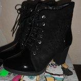 Женские стильные ботиночки 40 р.