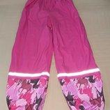 Продам новые, фирменные Lupilu ,прорезиненные штаны на флисе 6-8 лет.