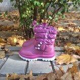 Зимние ботинки р24,25,26 для девочки Тм Солнце