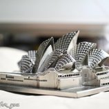 Metallic Nano Puzzle 3D сиднейская опера 7970