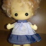 Hong Kong Коллекционная винтажная кукла глазастик куколка большие глаза винтаж Гонконг