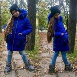 Куртка зима на девочку