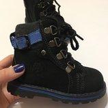 Ботинки зимние натуральный нубук