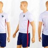 Форма футбольная детская France 3900-FR размер S-XL