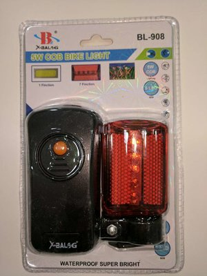 Велосипедный фонарик BL 908