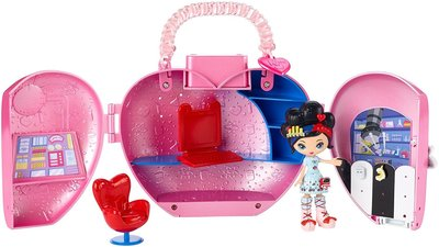 Kuu Kuu Набор мини кукла Куу Куу Харадзюку с домиком Кошелек любви Harajuku Love´s Purse Playset