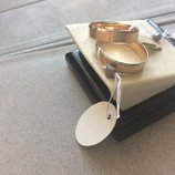 Обручальное кольцо- Американка,медсплав с позолотой,16.5 р-р