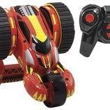 Kid Galaxy Машинка на радиоуправлении переворот на 360 на аккумуляторе 10307 RC Stunt Racer Red