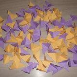 Бабочки для подвесной гирлянды разноцветные. Цвет на выбор