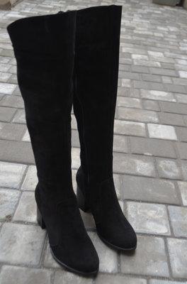 Сапоги зимние женские на натуральном меху евромех