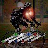 Светящийся браслет на руку для бега и велосипеда в темное время суток