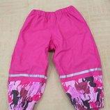 Продам новые, фирменные Lupilu ,прорезиненные штаны на флисе 1-2 года.