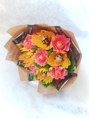 Букет из конфет «На встречу осени»
