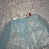 новое нарядное платье на девочку 2-3г 4 5л 6л