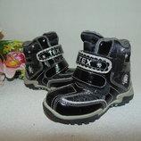 Шикарные ботинки Tex 22р,ст 14 см.Мега выбор обуви и одежды