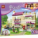 Конструктор Bela Friends 10164 В гостях у Оливии аналог LEGO Friends