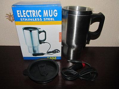 Термо кружка дорожняя автомобильная ELECTRIC MUG 12V Car Mug
