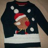 Новогодний свитер Y.d. 4-5л