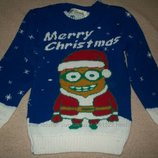 Новогодний свитер No Problem 3-4г