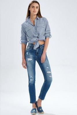 a9816affed1 Рваные джинсы облегающие скинни завышенная талия модель ltb lina slim hight  rise. Previous Next