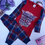Трикотажная пижамка для мальчиков
