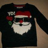 Новогодний свитер Ребел 5-6л,
