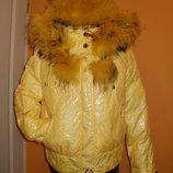 Молодёжная куртка-пуховик, размер 46 или L еврозима. утиный пух