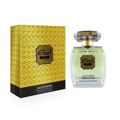 Мужская парфюмированная вода стойкая Ekol Gold юнайс Unice, 100 мл
