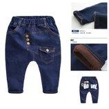 Теплые и весенние джинсы с матней в наличии 540018,540049 промо
