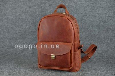 16768bbae7c2 Черный кожаный рюкзак среднего размера с потайным карманом K00028-6.  Previous Next
