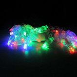 Новогодняя светодиодная гирлянда Шишки 28 светодиодов