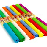 Бумага креповая гофрированная цветная гофро папір кольор гафрований креповий канц школ шкіл тво креп