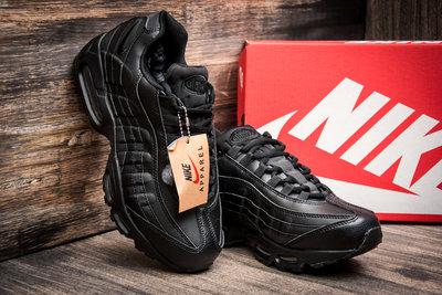 3778e3512 Зимние кроссовки Найк Air Max 95 мужские, на меху, черные: 1400 грн ...