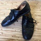 Мужские туфли Тм Grand Gudini, натуральная кожа, цвет черный. Размер 41