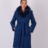 Скидка Шикарное зимнее пальто с натуральным мехом