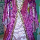 Красивое платье принцессы прокат Позняки