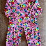Пижама детская с легким начесом