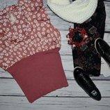 L 18 / 46 Красивая классическая летняя блуза с нежным цветочным принтом Next некст прованс